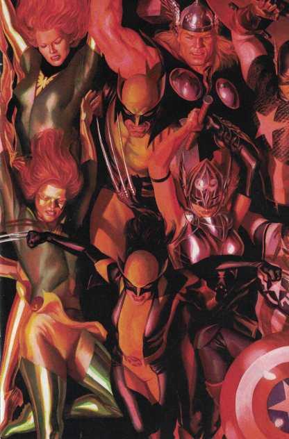 Generations Phoenix #1 1:50 Alex Ross Connecting Variant Marvel 2017 Jean Grey