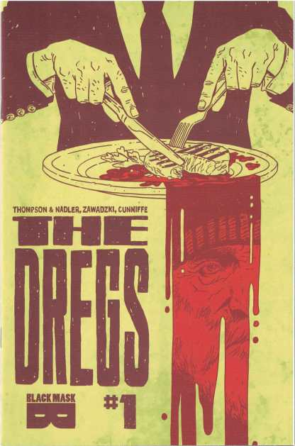 The Dregs #1 Eric Zawadzki Cover A Black Mask 2017