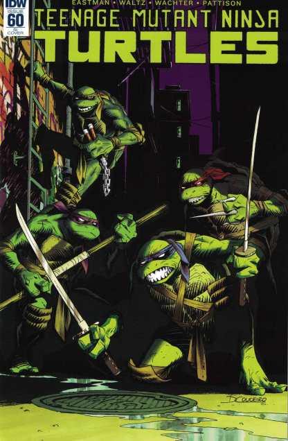 Teenage Mutant Ninja Turtles #60 1:10 Retailer Incentive Variant RI IDW TMNT