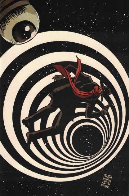 Twilight Zone Shadow #4 1:10 Francavilla Virgin Art Variant Dynamite 2016