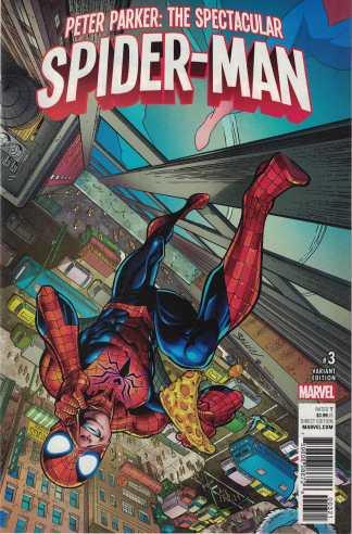 Peter Parker Spectacular Spider-Man #3 1:25 Mark Bagley Variant Marvel 2017