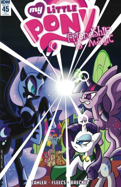 My Little Pony Friendship is Magic #45 1:10 Retailer Incentive Variant RI IDW