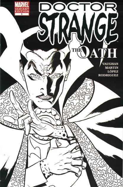 Doctor Strange #1 The Oath Ink Variant Marvel 2006 VF/ NM-
