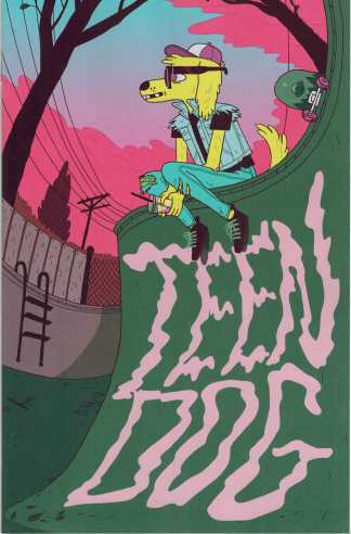 Teen Dog #1 1:10 Jen Lee Variant BOOM!