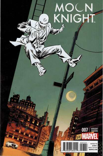 Moon Knight #7 1:25 Declan Shalvey Variant