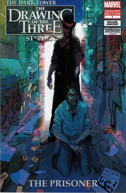 Stephen King's The Dark Tower Drawing of Three Prisoner 1:10 Retailer Incentive Variant
