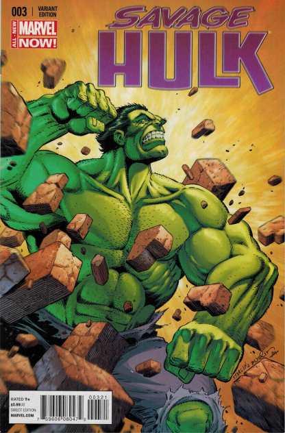 Savage Hulk #3 1:25 Jim Starlin Variant