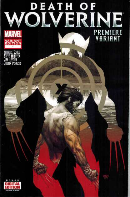 Death of Wolverine #1 Premiere Event Variant