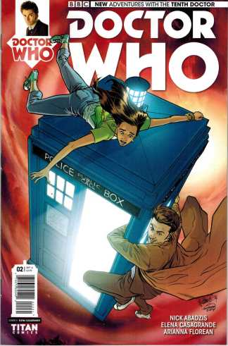Doctor Who the 10th Doctor #2 1:10 Variant Tenth