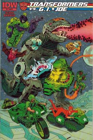 Transformers vs G.I. Joe #2 Scioli Variant