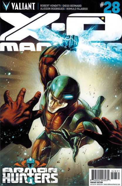 X-O Manowar #28 1:20 Stephan Segovia Variant