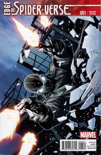 Edge of the Spider-Verse #1 1:25 Greg Land Variant Marvel 2014 Spider-Man Noir