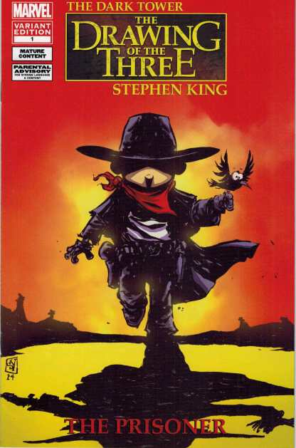 Stephen King's The Dark Tower Drawing of Three: Prison #1 Skottie Young Variant