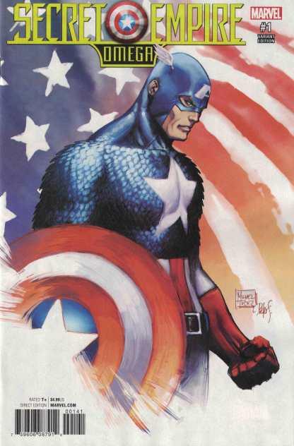 Secret Empire Omega #1 1:50 Michael Turner Variant Marvel 2017