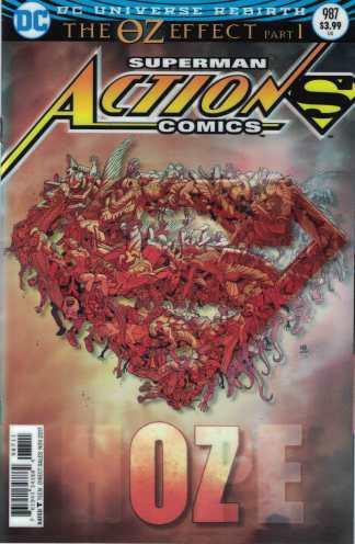 Action Comics #987 Nick Bradshaw Lenticular Variant DC Rebirth 2011 Superman Oz