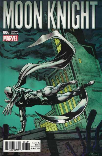 Moon Knight #6 1:15 Bob Hall Classic Variant Marvel ANAD 2016