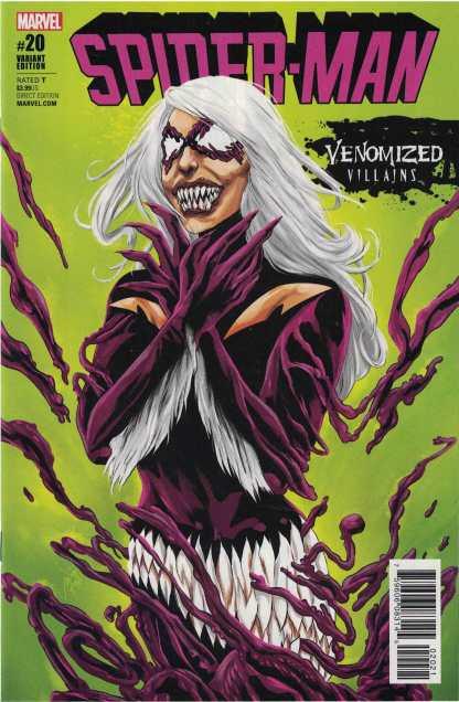 Spider-Man #20 Ming Doyle Unlocked Venomized Black Cat Variant Marvel