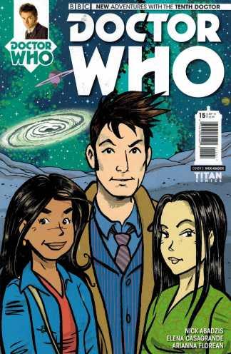 Doctor Who 10th #15 1:10 Abadzis Variant Titan