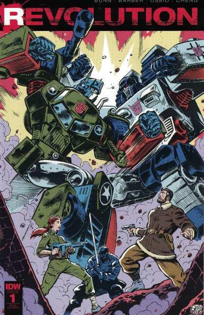 Revolution #1 1:25 Guido Guidi Incentive Variant RI-B 2016 IDW Rom Transformers