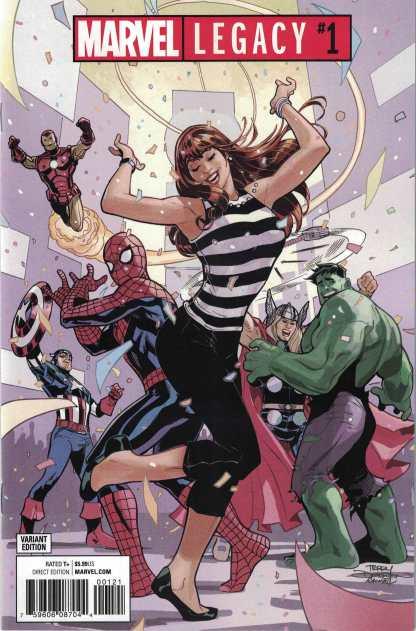 Marvel Legacy #1 Unlocked Party Variant 2017