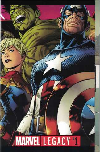 Marvel Legacy #1 Joe Quesada Wraparound Regular Cover 2017