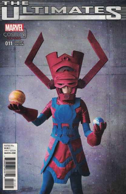 Ultimates #11 1:15 Galactus Cosplay Variant Marvel ANAD 2015
