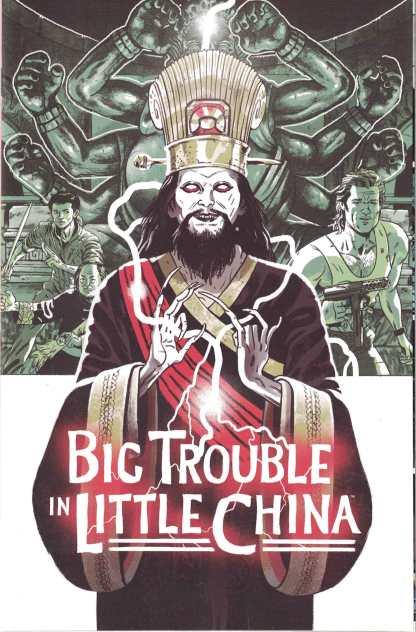 Big Trouble in Little China Old Man Jack #1 1:5 Sam Bosma Variant Boom 2017