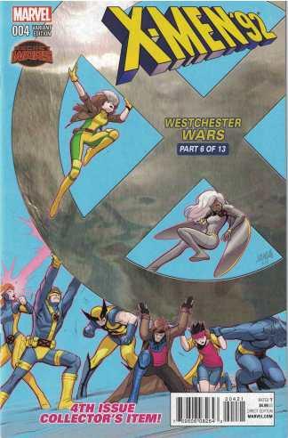 X-Men '92 #4 1:25 David Nakayama Variant Marvel 2016
