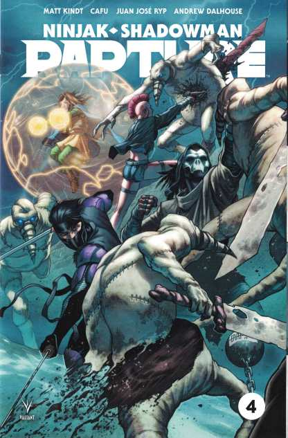 Rapture #4 1:20 CAFU Valiant Variant Ninjak Shadowman 2017