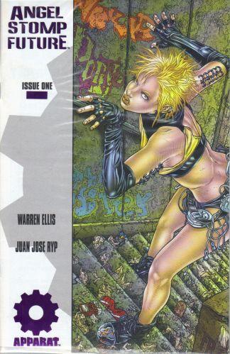 ANGEL STOMP FUTURE Variant purple foil Ellis Ryp Black Summer