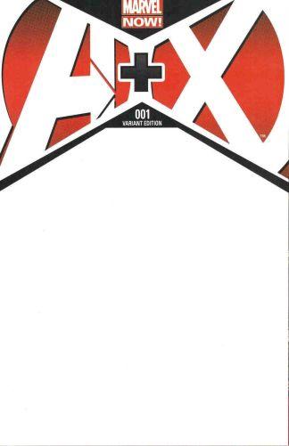 A+X #1 Blank Variant A Plus X Marvel Now