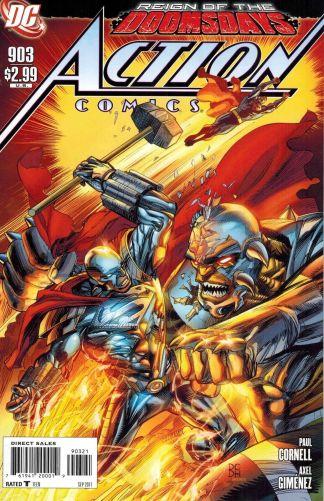 Action Comics #903 1:10 Denys Cowan Rein of Doomsday Variant DC 1938 Superman