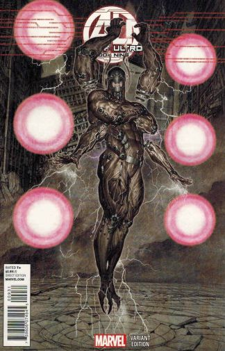 Age of Ultron #9 1:25 Rock He Kim Variant