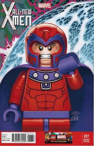 All New X-Men #17 1:25 Castellani Jim Lee 1 Homage Magneto Lego Variant NOW 2012