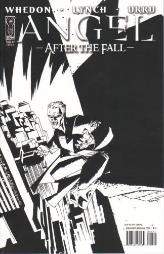 Angel: After the Fall #7 B&W Variant Buffy the Vampire Slayer Joss Whedon