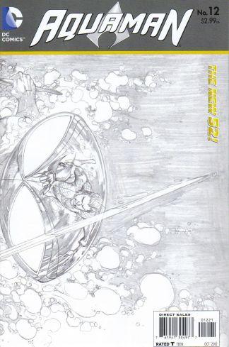Aquaman #12 1:25 Sketch Variant