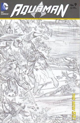 Aquaman #9 1:25 Sketch Variant