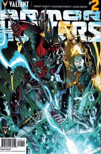 Armor Hunters #2 1:50 Bryan Hitch Variant Valiant HTF Rare X-O Manowar