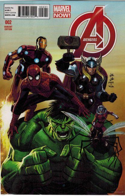 Avengers #2 1:50 John Romita Jr Variant Marvel NOW 2012