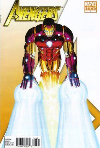 "Avengers #3 John Romita, Jr ""I Am An Avenger"" Variant Iron Man"