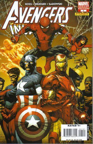 Avengers Invaders #1 David Finch Variant Dynamite Marvel