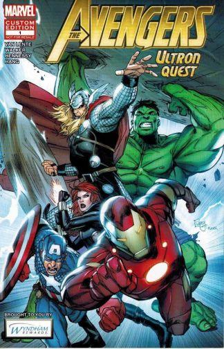 Avengers Ultron Quest #1 Garney Wyndam Rewards Custom Edition