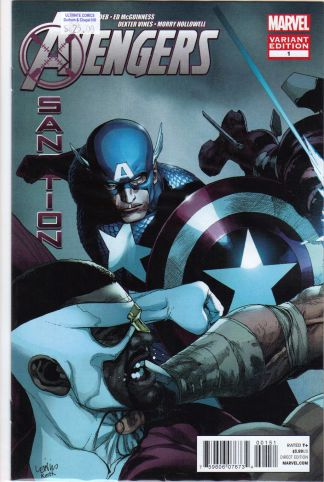 Avengers: X-Sanction #1 Yu Variant