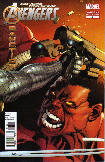 Avengers: X-Sanction #3 Yu Variant