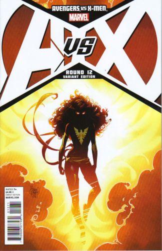 Avengers vs X-Men #12 1:50 Adam Kubert Phoenix Variant Marvel 2012