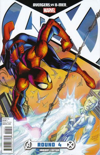 Avengers vs. X-Men #4 Mark Bagley Variant