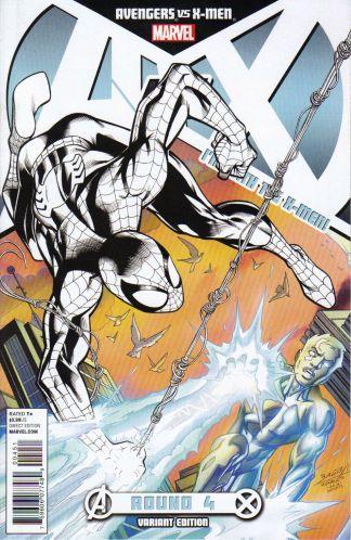 Avengers vs. X-Men #4 X-Men Team Variant