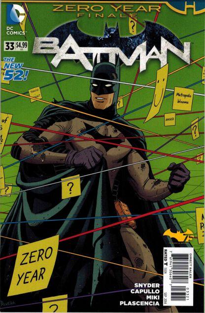 Batman #33 1:25 Variant Zero Year