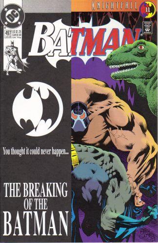 Batman #497 Knightfall Part 11 Bane