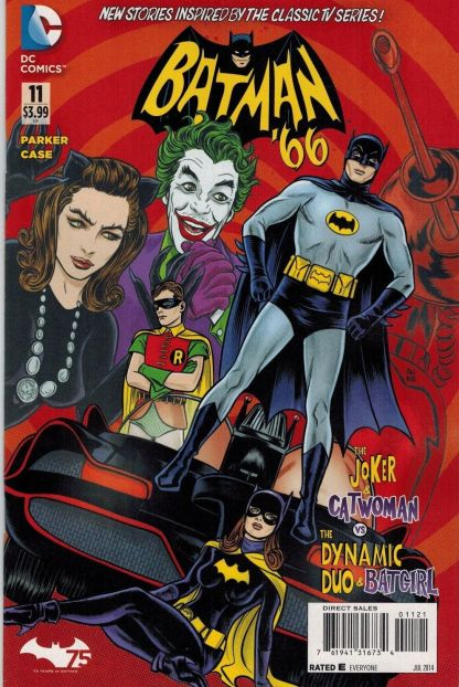 Batman '66 #11 1:25 Mike Allred Variant HTF harley Quinn